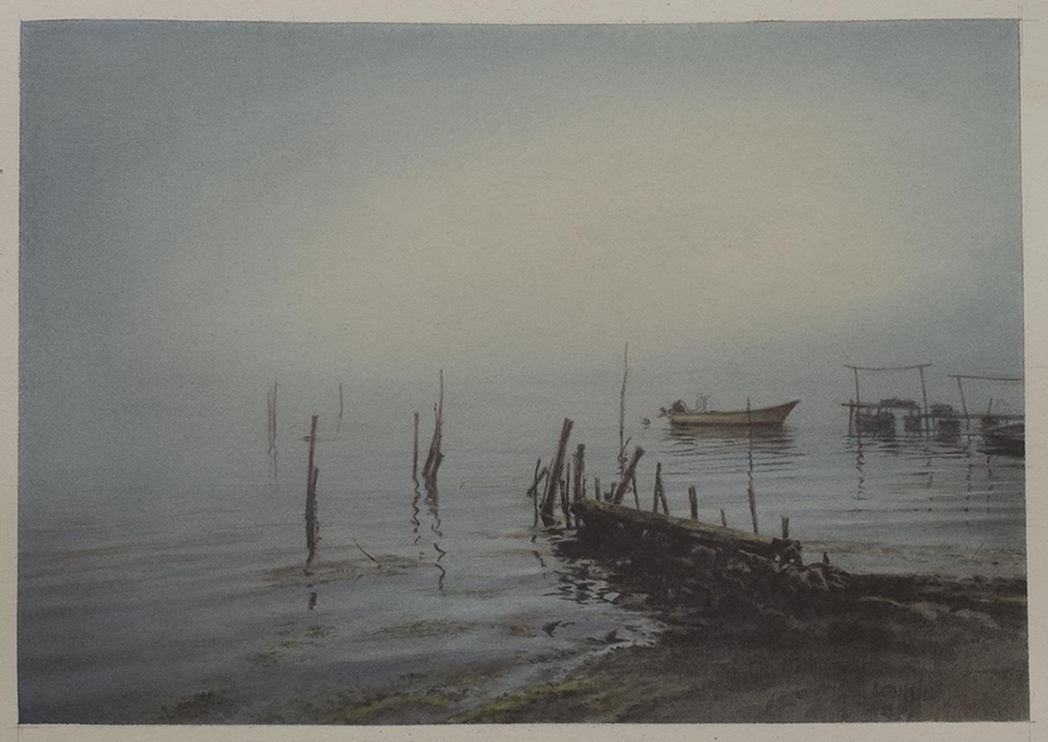 """""""L'avant Port à Bages"""""""